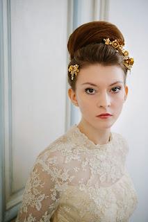 Edwardian vintage wedding dresses, c HVB vintage wedding blog 2013