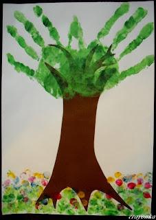 Drzewo latem