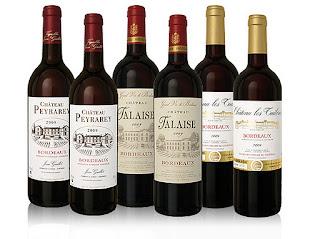 Bordeaux-Weinpaket 6 Flaschen