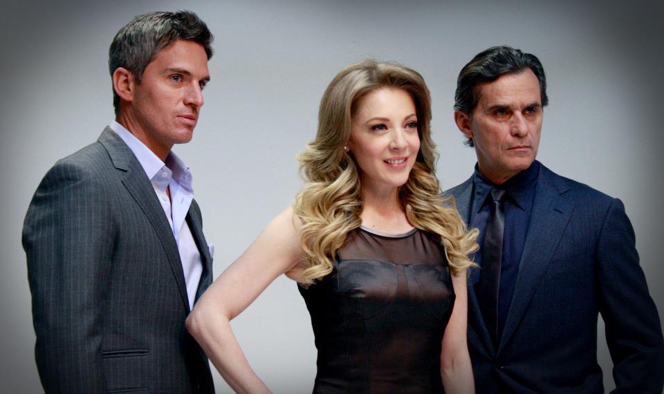 """Fotos de """"Vivir a Destiempo"""", nueva telenovela de TV Azteca."""