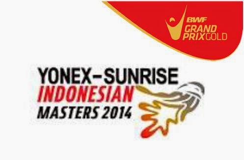 Hasil Pertandigan Babak 8 Besar Indonesian Masters Grand Prix Gold 2014
