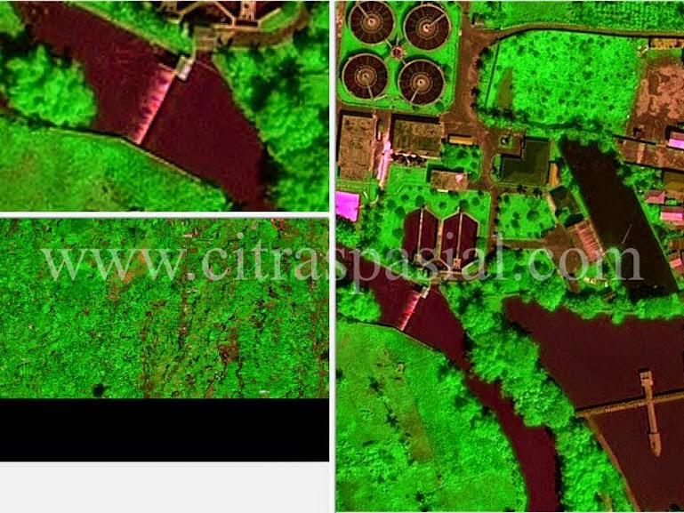 Citra Satelit Pleiades, Project Pengolahan Citra, Pengolahan Data Citra Satelit