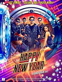 Happy New Year (2014) Hindi Movie First Look Poster, Release Date, Full Star Cast and Crew, ShahRukh Khan, Abhishek Bachchan, Deepika Padukone