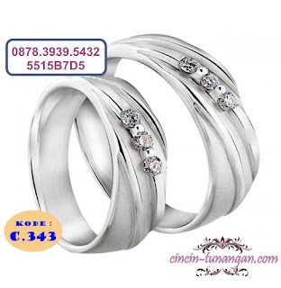 cincin pernikahan couple no 343