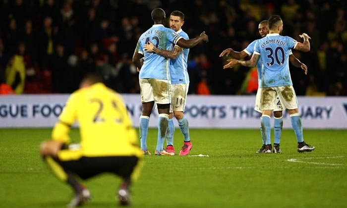 Full Time: Watford 1 Man City  2 (Watch The Goals And Highlights)