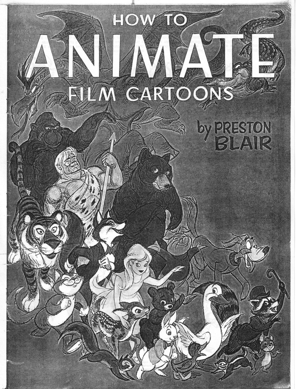 preston blair how to animate film cartoons