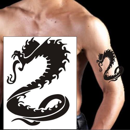Free tattoo design dragon arm tattoos temporary tattoo design for Temporary arm tattoos
