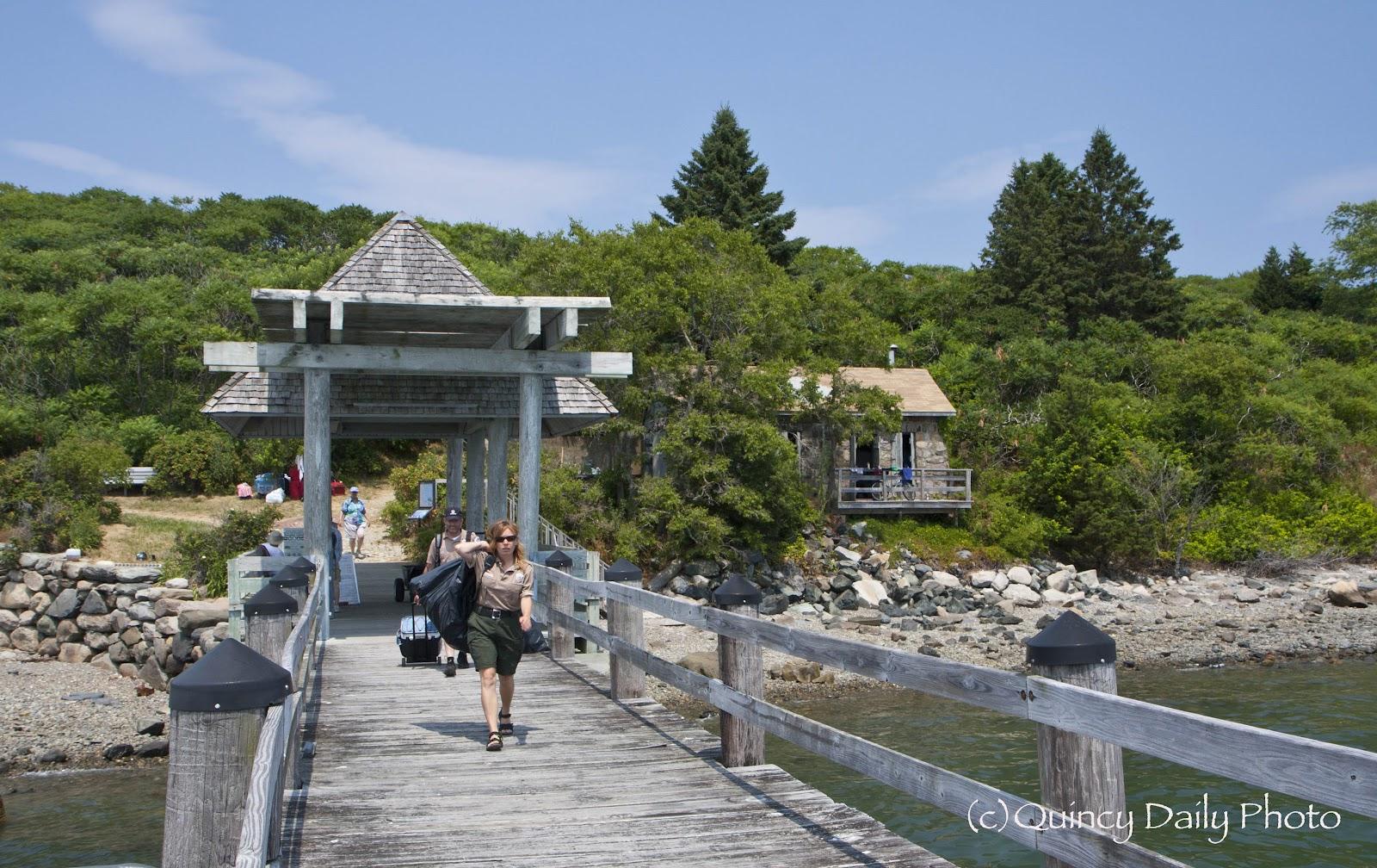 Bumpkin Island Ferry