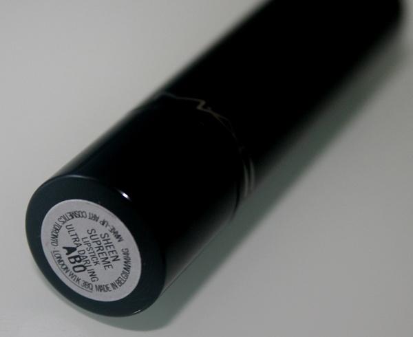 MAC Sheen Supreme Lipstick in Ultra Darling