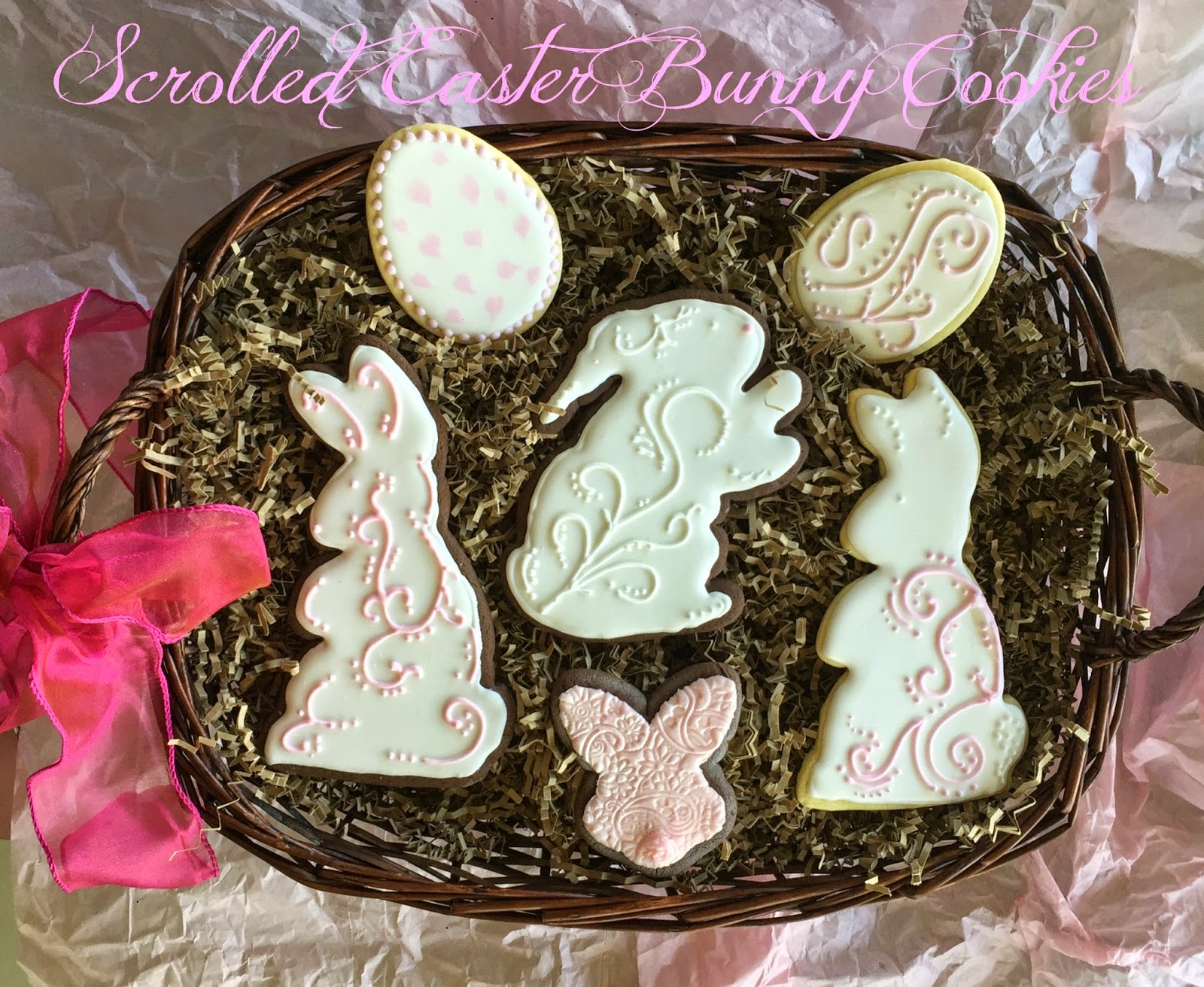 Scrolled Easter Cookies
