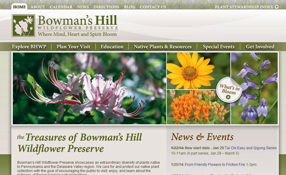 ... Southeastern Pennsylvania (or Philadelphia), Bowmanu0027s Hill Wildflower  Preserve Will Be Offering A Talk By John Mark Courtney Of Aquascapes  Unlimited On ...