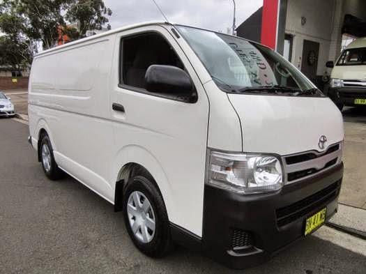 2015 Toyota HiAce Cargo  Review