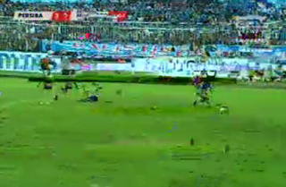 Pertandingan Sepakbola Persiba vs Persepam Madura - ISL 2013