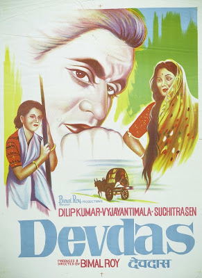 Poster Of Bollywood Movie Devdas (1955) 100MB Compressed Small Size Mobile Movie Free Download