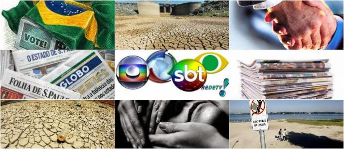 A operação-abafa da mídia e os truques estatísticos da SABESP na crise da água
