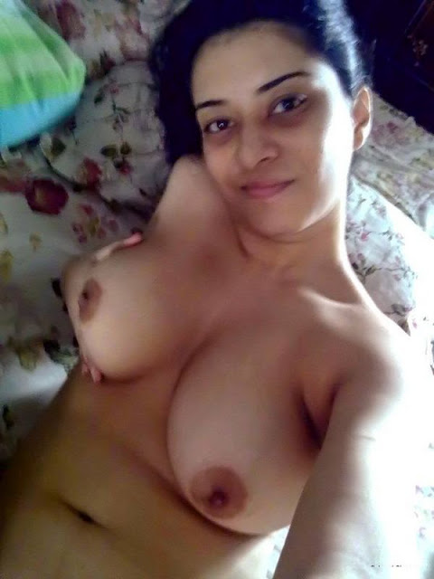 Topless Indian Girl Self Shot