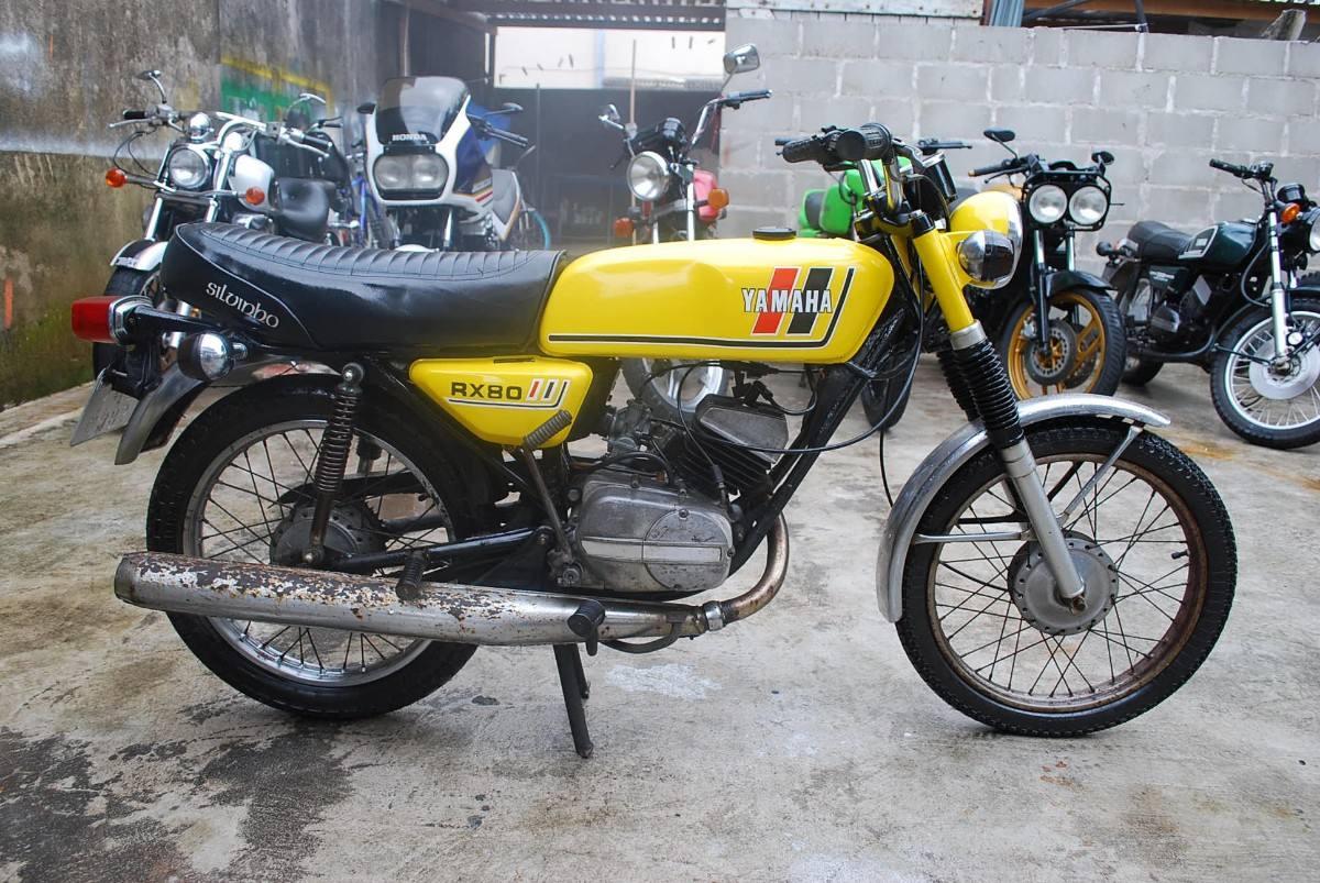 Tartaruga motos yamaha rx80 yamaha carona for Yamaha honda kawasaki