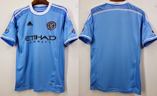 Manchester City Soccer Jersey 15-16 Home Player Version