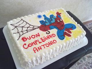 Alessandra e i suoi dolci torta spiderman for Decorazione torte spiderman