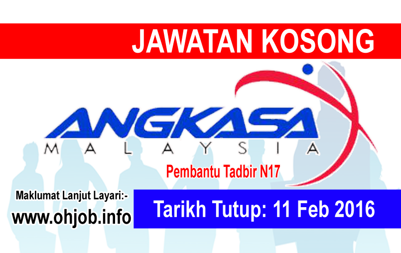Jawatan Kerja Kosong Agensi Angkasa Negara Malaysia logo www.ohjob.info februari 2016