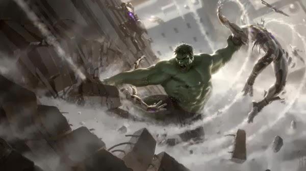 "Primera escena de Hulk en ""Los Vengadores: La Era de Ultron"""
