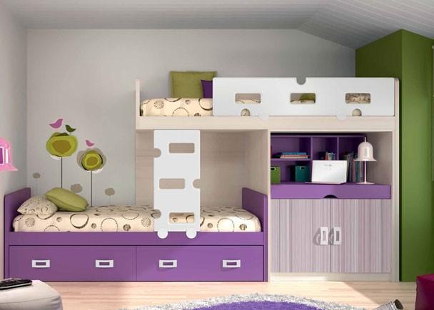 Dormitorios juveniles economicos - Habitaciones infantiles tren ...
