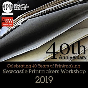 40 Printmakers Celebrate 40 Years of Printmaking<br>Newcastle Printmakers Workshop 2019