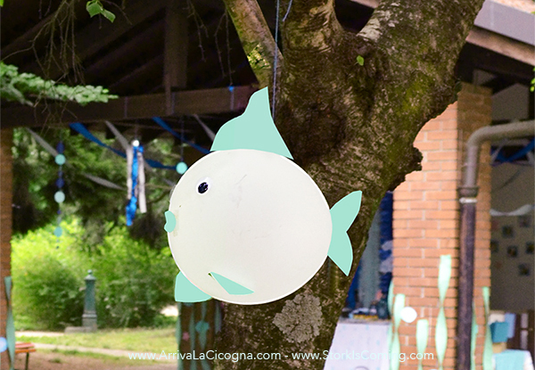 DIY flying fish-balloon