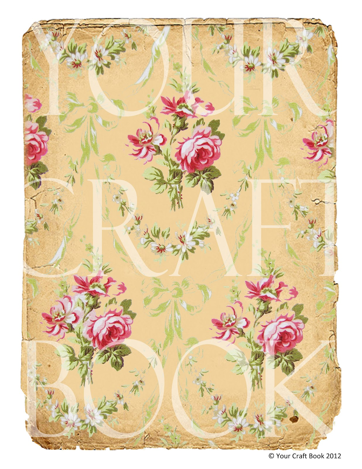 Your craft book vintage french wallpaper for Old french wallpaper