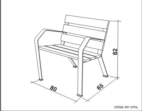 Actividades escolares bancos rusticos de madera muy for Sillas para planos