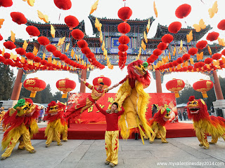 Chinese New Year Eve Greeting Card 2014