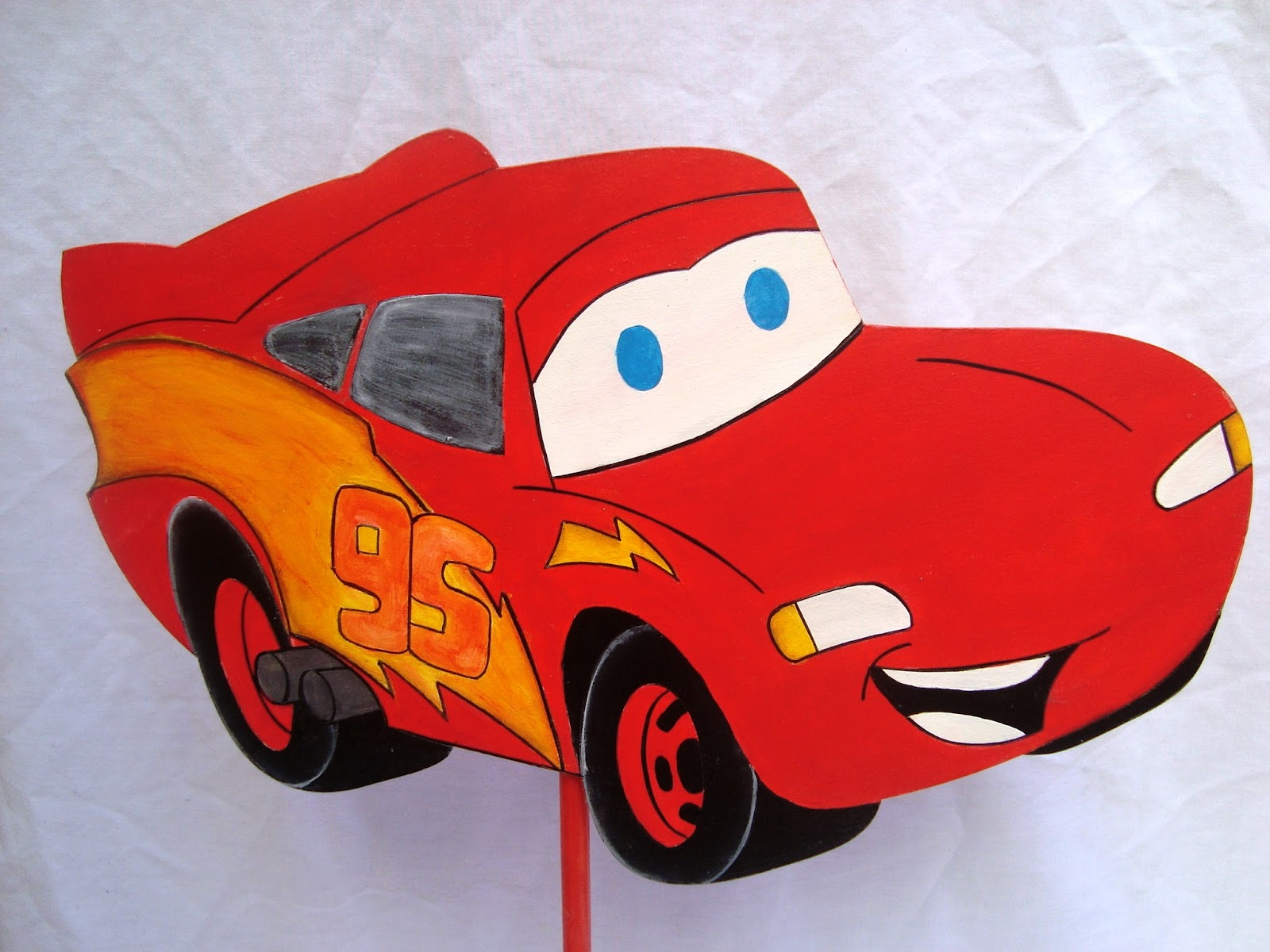 MIS ARTESANIAS DEL ALMA: Decoración cumpleaños Cars