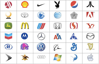 The Topology Underlying the Brand Logo Naming Game: Unidimensional or Local Neighborhoods?
