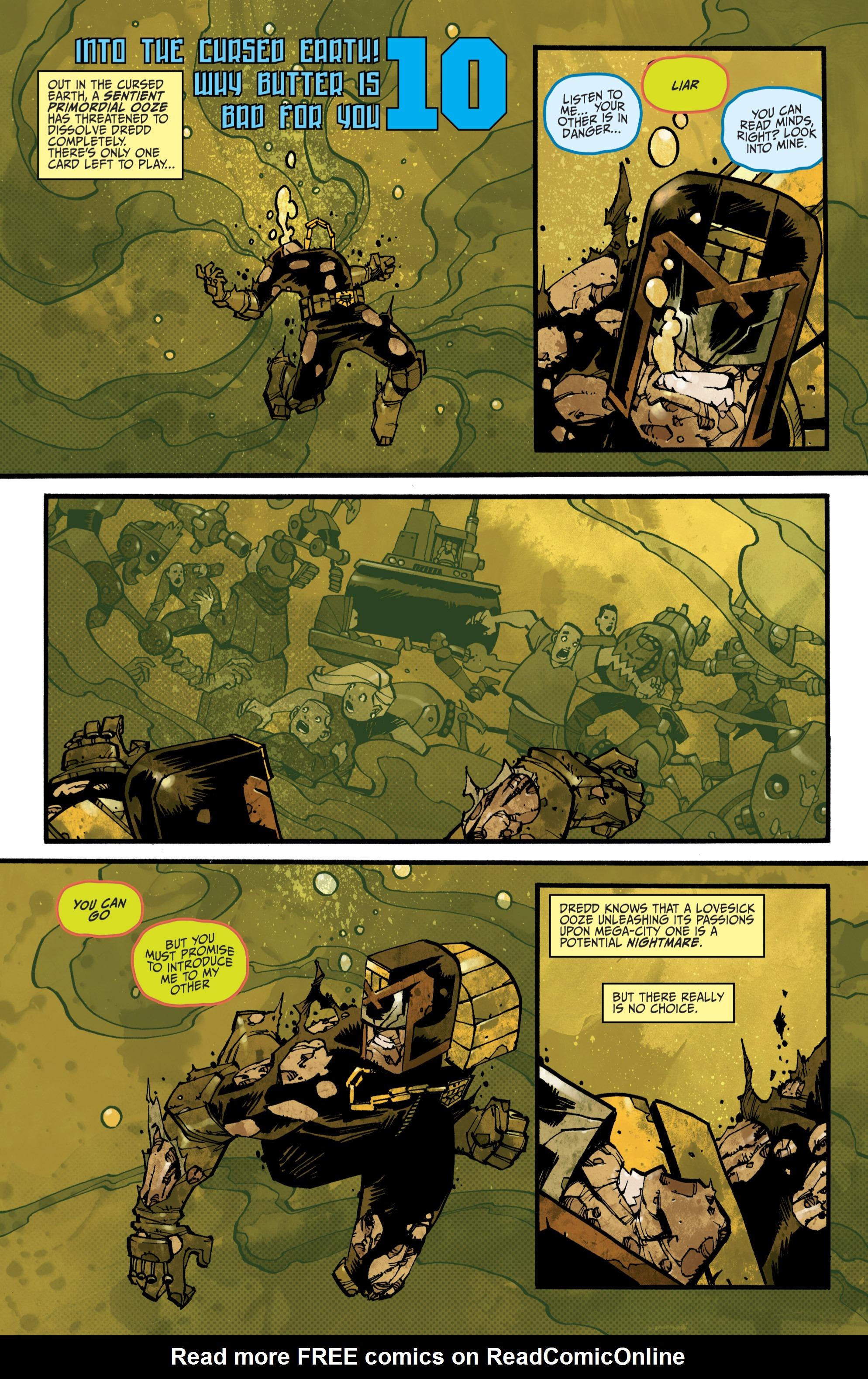 Read online Judge Dredd (2012) comic -  Issue # _TPB 3 - 71