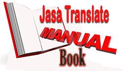 translate buku manual