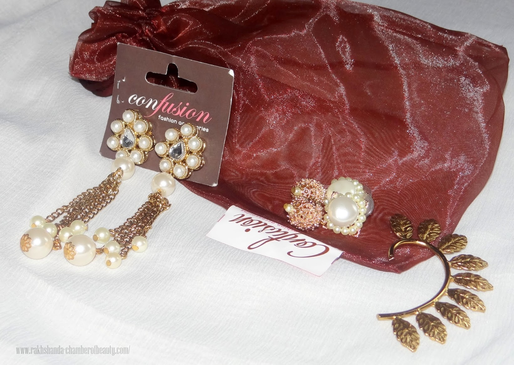 Confusion Fashion Accessories- review, Traditional jewelry Online, Indian fashion blogger, Chamber of Beauty