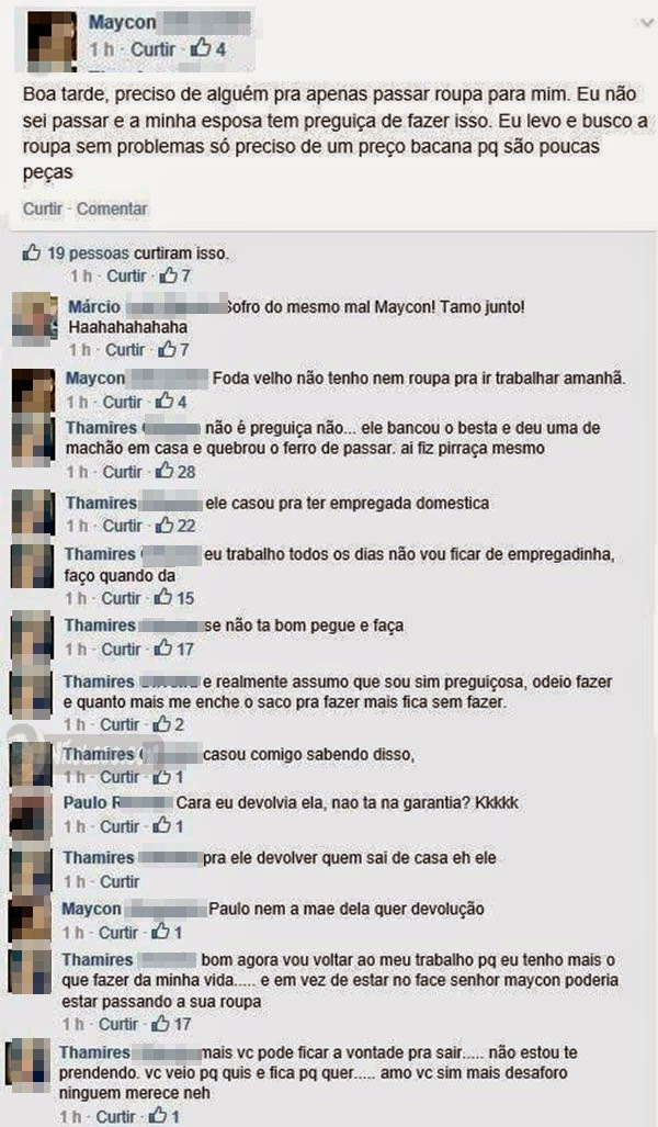 Pérolas do Facebook
