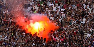 Zamalek club supporters