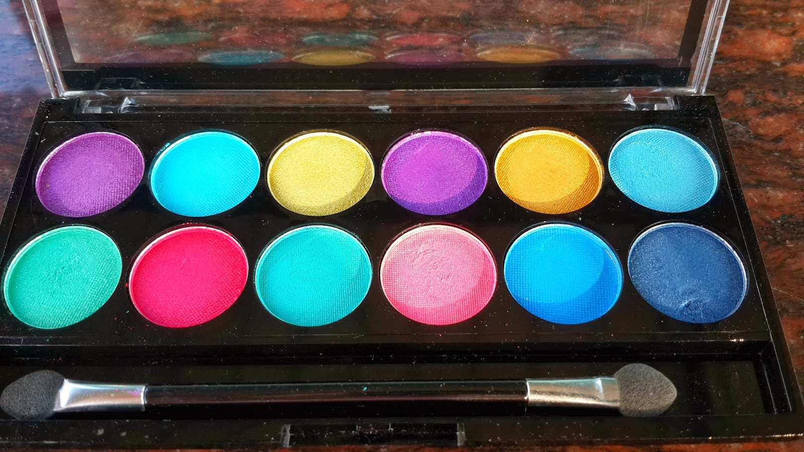 MUA Poptastic- MUA Poptastic Palette- MUA poptastic palette review