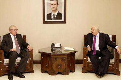 Syria serah pada Rusia bukti serangan gas yang baru