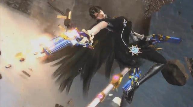 Screenshot of Bayonetta 2