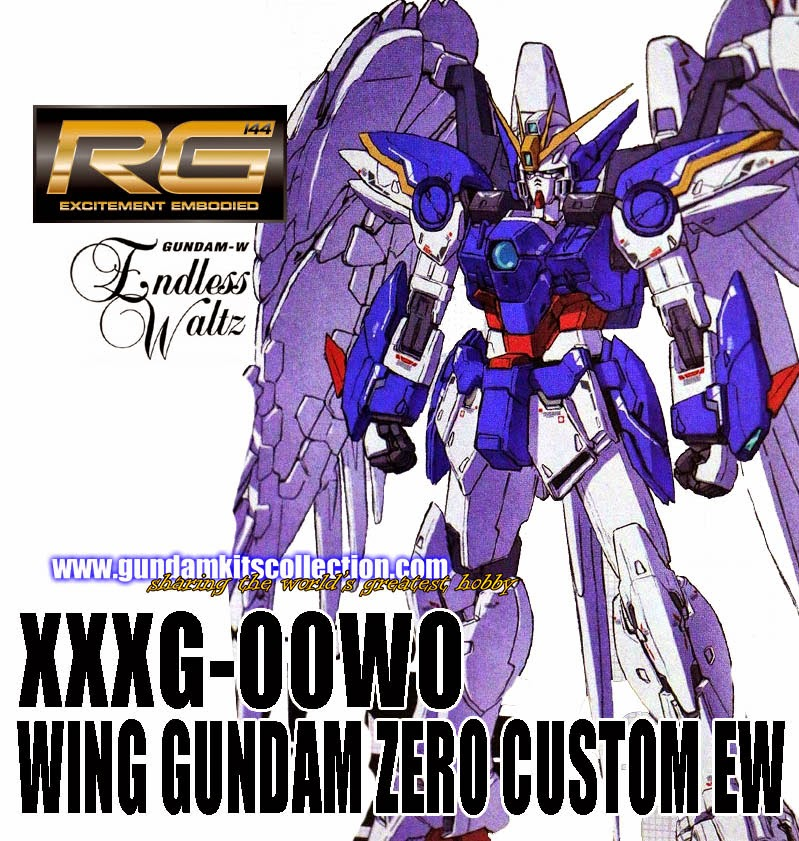 Real Grade Wing Gundam Zero Custom EW