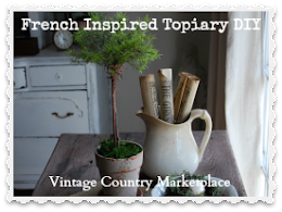 French Inspired Topiary DIY