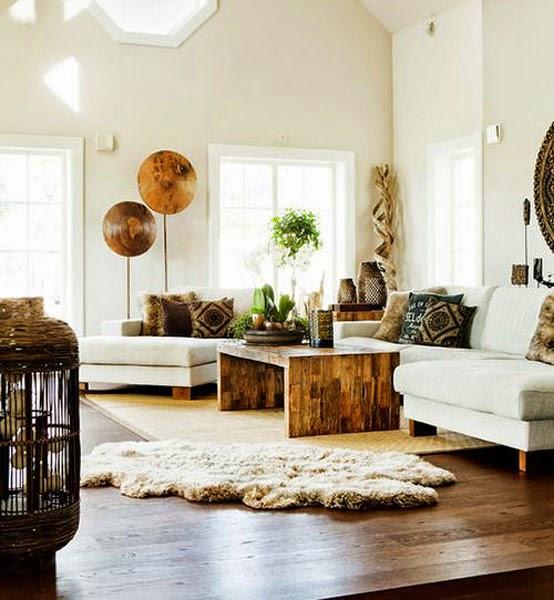 Decoracion casas de madera una casa con mucha madera with for Casa blanca muebles y decoracion