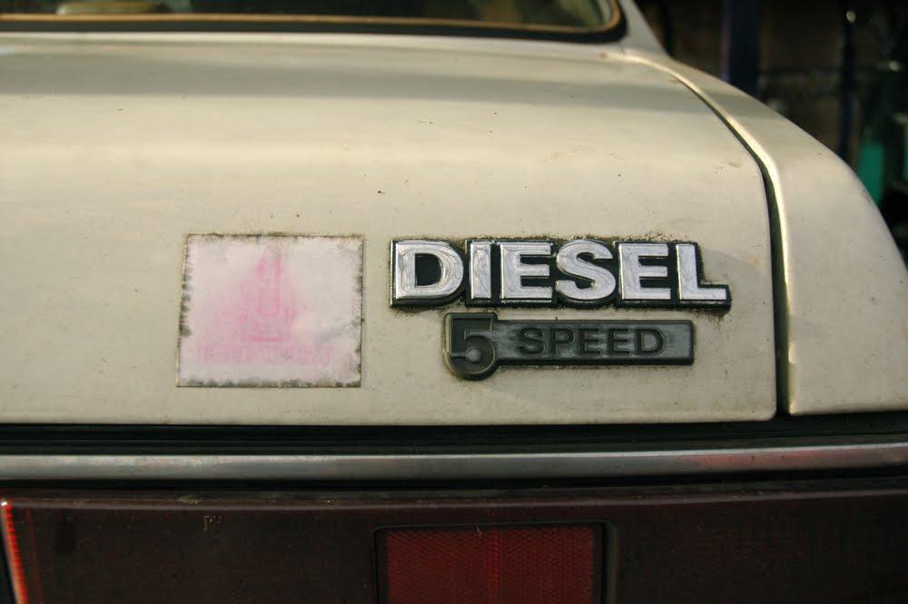1981 Isuzu I-Mark diesel.