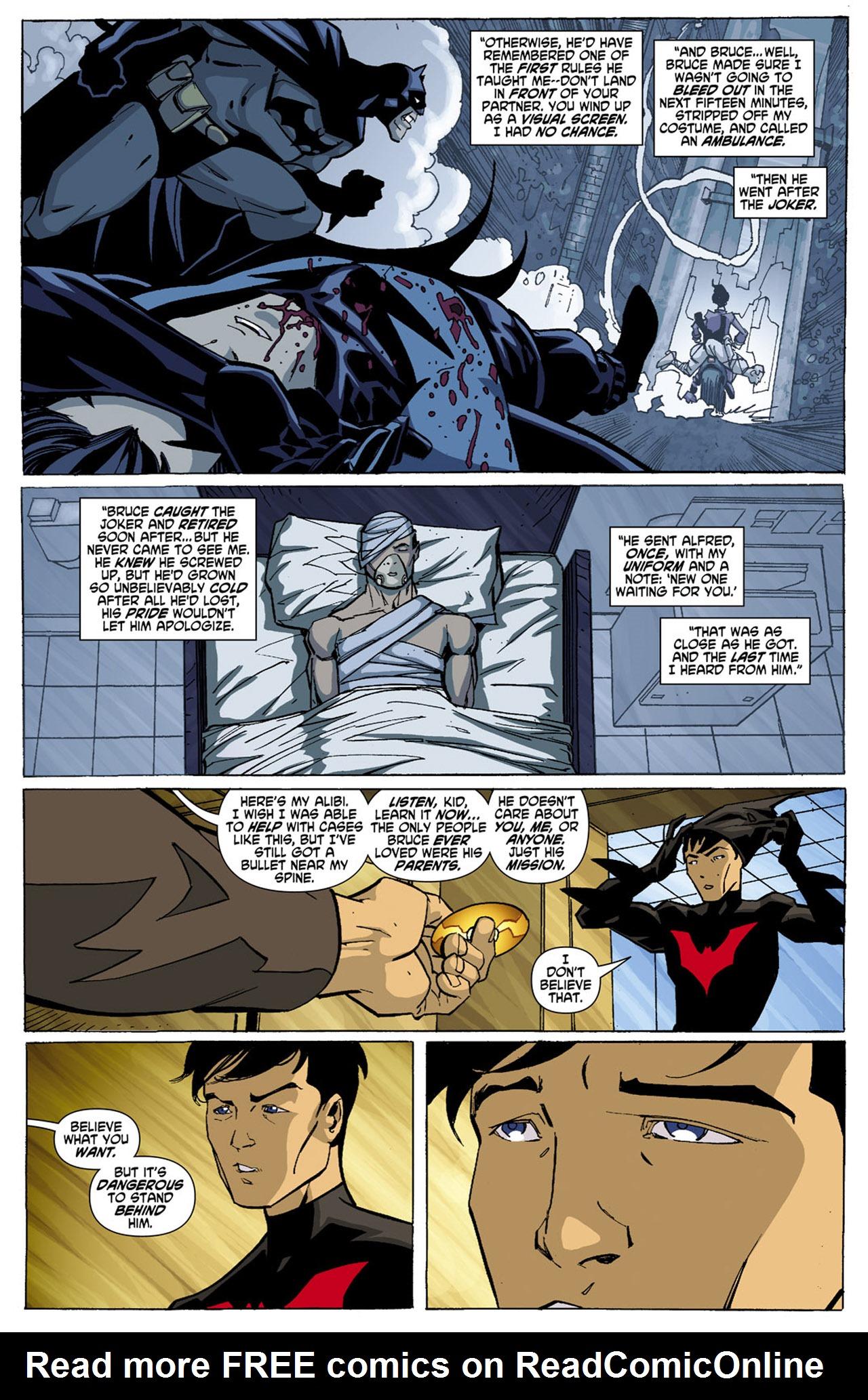 Batman Beyond (2010) Issue #4 #4 - English 16