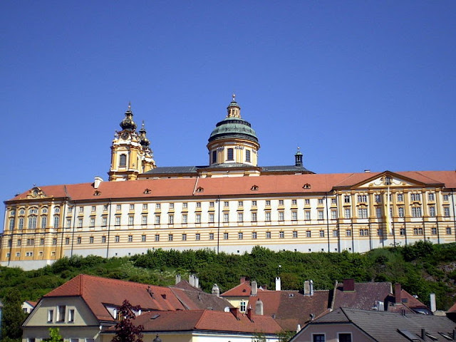 Austria's Melk Abbey, yet another stop along your European river cruise. Photo: WikiMedia.org.