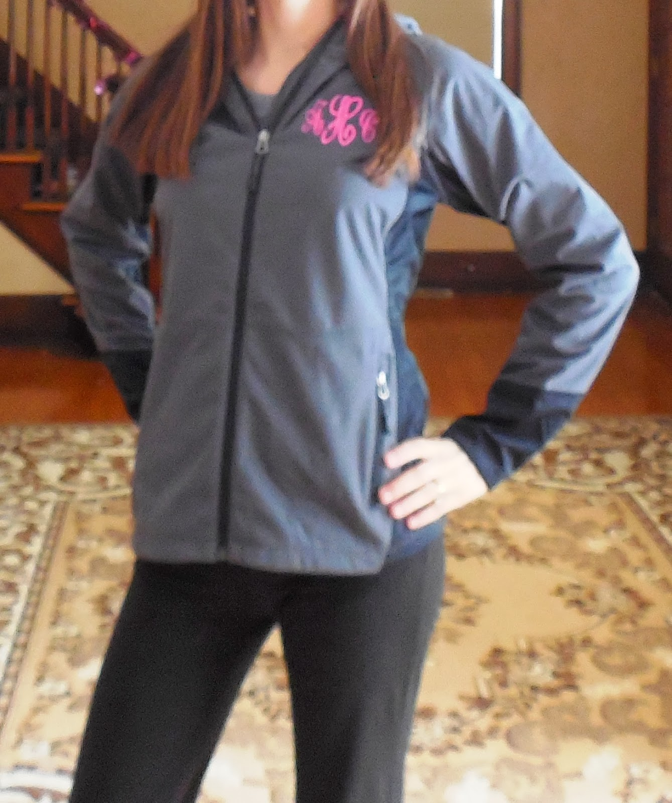 The Pink Monogram Jacket