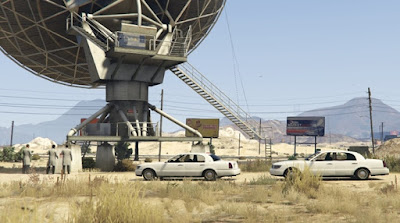 GTA V FIB Agent in Satellite Dish
