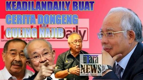 Keadilan Daily Buat Cerita Dongeng Guling Najib